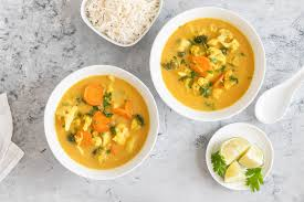 Healthy Slow Cooker Yellow Chicken Curry
